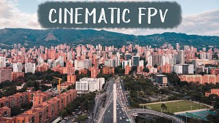 Medellín, Colombia Cinematic FPV Drone Footage