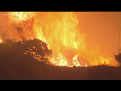 Saddle Ridge Fire burning in Granada Hills, Porter Ranch, Sylmar blackens 4,600 acres