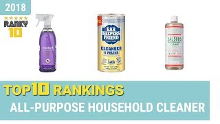 Best All-Purpose Household Cleaner Top 10 Rankings, Review 2018 & Buying Guide