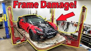 "Rebuilding a Wrecked 2016 Corvette Z06 (Part 4) ""Not From Copart"""