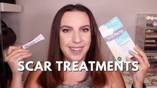 BREAST REDUCTION UPDATE 6 MONTHS POST OP: SCAR TREATMENTS BY SCAR AWAY, MEDERMA, DERMA E