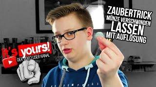 Münze Hinterm Ohr Trick видео видео