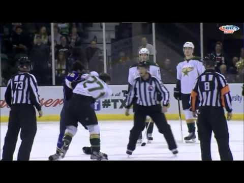 Antoine Roussel vs. Chris Bruton