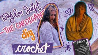 Taylor Swift Folklore Cardigan DIY en ESPAÑOL - Aprende a tejer crochet