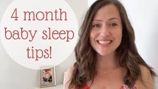 4 Month Old Baby Sleep Tips & Guidelines