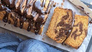 Marble Cake (Dairy Free, Gluten Free, Refined Sugar-Free)