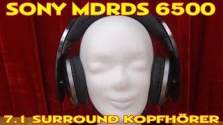 """""""SONY MDRDS 6500  7.1.-KANAL DIGITAL SURROUND KOPFHÖRER"""" -persönlicher Eindruck"""