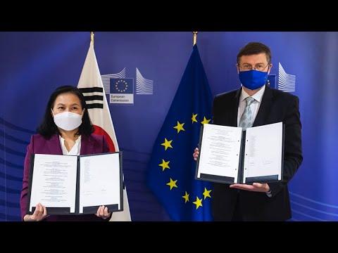 10th Anniversary of EU-Korea FTA in 2021 한-EU 자유무역협정 발효 10주년 영상