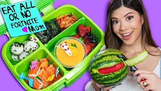 I made Tik Tok Food Art | Kids Bento Boxes