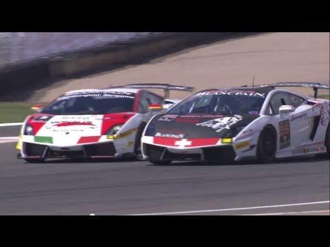 Lamborghini Blancpain Super Trofeo - Corsa al Circuito di Navarra - Highlights