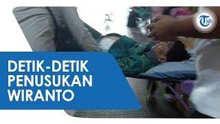 Detik-detik Menkopolhukan Wiranto Ditusuk Orang Tak Dikenal yang Diduga Terpapar Radikalisme