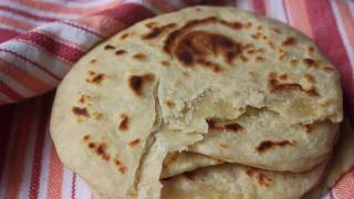 Fresh Flour Tortillas! - Homemade Flatbread Recipe - Make Your Own Wraps!