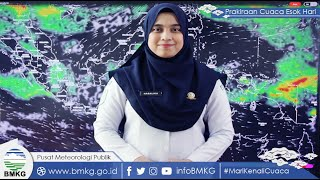INFO BMKG: Prakiraan Cuaca Hari Ini Jumat 8 Oktober 2021: Surabaya dan Padang Cerah