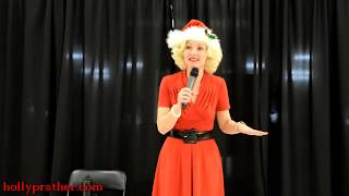 Holly Performs I Saw Mommy Kissing Santa Claus