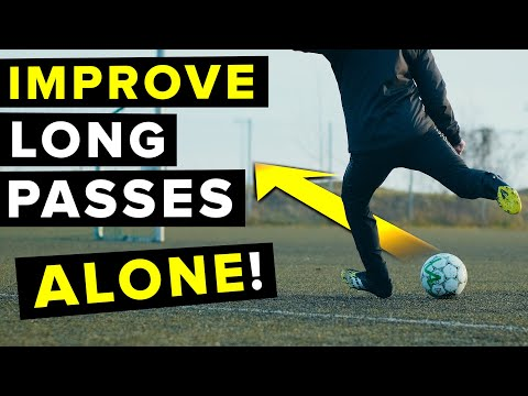 EASY WAY to improve long passing ALONE