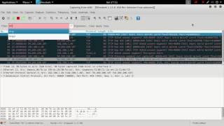 כיצד להשיג שם משתמש וסיסמא באמצעות Wireshark