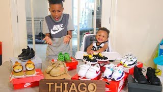 My BABY Brother's Insane Sneaker Collection!