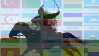 Тюркский рэп - Тюрки идут(урусча, татарча)
