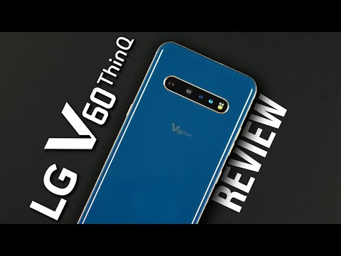 External Review Video CkNQMv5ocms for LG V60 ThinQ 5G & LG Dual Screen Smartphone