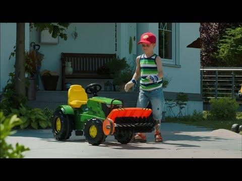 rolly toys sweeper kehrmaschine f r traktor unimog d. Black Bedroom Furniture Sets. Home Design Ideas