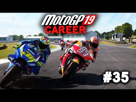 MotoGP 19 Career Mode Gameplay Part 35 - CHASING DOVI! (MotoGP 2019 Game Career Mode PS4 / PC)