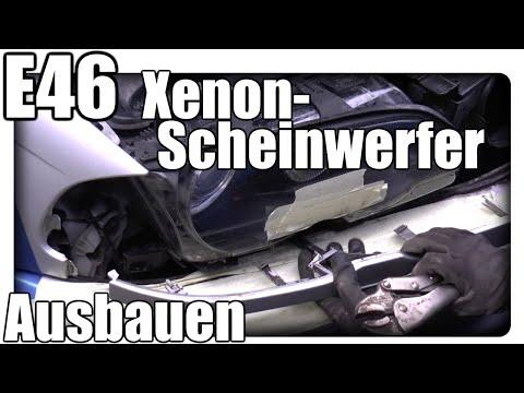 E46 Xenon Scheinwerfer ausbauen / Blinker ausbauen / Waschdüse ausbauen Tutorial