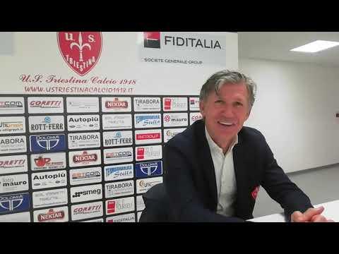 Sala stampa Triestina-Teramo: Mister Pavanel