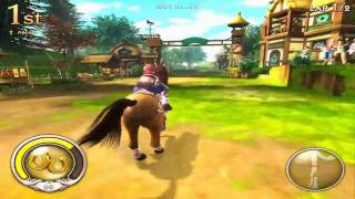 Alicia Online In Game Horse Racing Tutorial Trailer