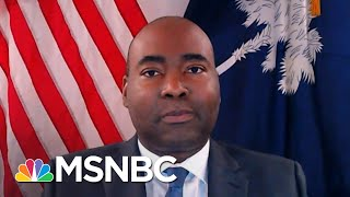 DNC Chair Harrison: 'We're Going To Fight Against These Oppressive Laws'   The Last Word   MSNBC