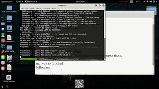 How To Fix Problem You might want to run 'apt --fix-broken install' in kali LInux 2018.4