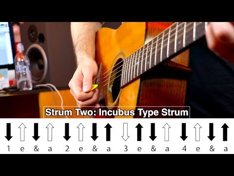 """The """"DRIVE"""" Strum Pattern (with AoG Arrow System)"""