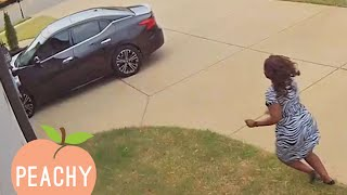 CAUGHT IN THE ACT | Funniest Security Camera Fails 😂