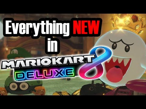 Everything NEW in Mario Kart 8 Deluxe!