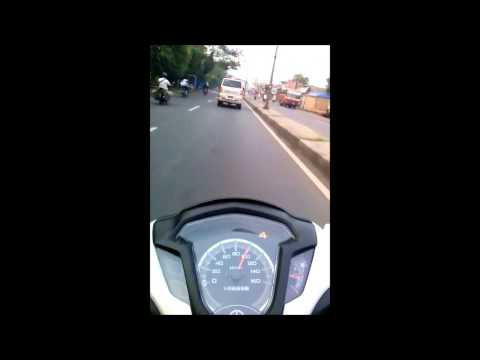 Test Speed Yamaha Jupiter Z1