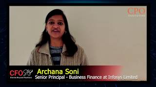 Archana Soni from Infosys Limited on The CFO Story Forum