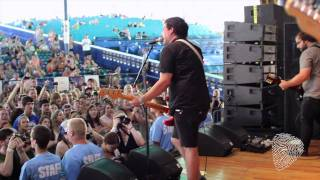 """Where I Want To Be"" // The Dangerous Summer (Live at Vans Warped Tour)"