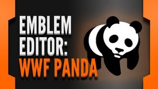 BLACK OPS 2 EMBLEM EDITOR: WWF Panda logo