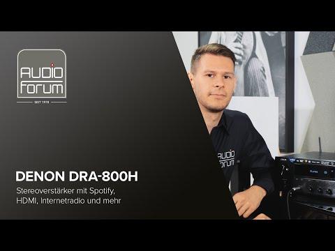 Denon DRA-800H: Stereoverstärker mit Spotify, HDMI, Internetradio und mehr