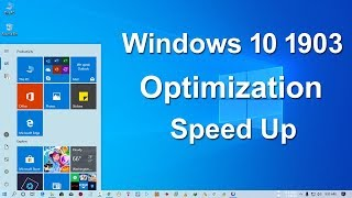 windows 10 1903 optimization - TH-Clip