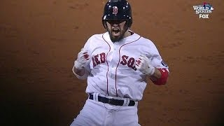 Victorino doubles off Monster for three