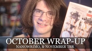 October Wrap-Up/Reviews, NaNoWriMo, & November TBR