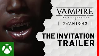 Xbox Vampire: The Masquerade – Swansong | The Invitation anuncio