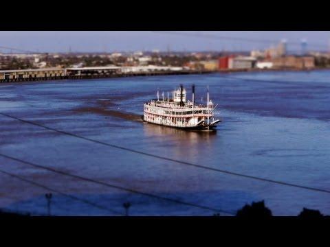 נהר המיסיסיפי בצילום מיניאטורי