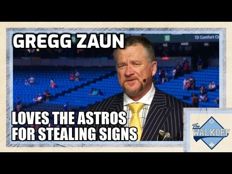 Blue Jays George Springer | Gregg Zaun GOES OFF! LOVES the Houston Astros Sign Stealing Controversy