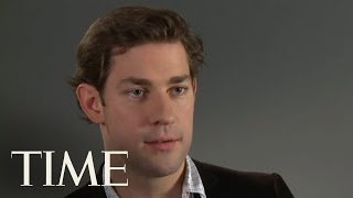 TIME Magazine Interviews: John Krasinski - Video Youtube