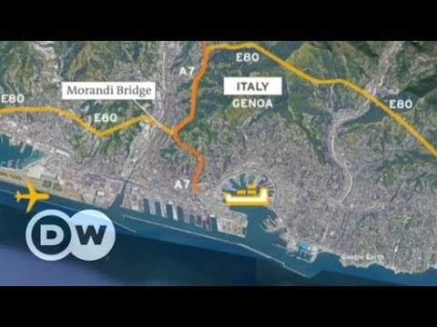 Italy bridge collapse: What does loss of bridge mean for Genoa?   DW English