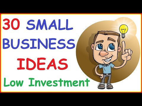 , title : 'Top 30 Profitable Small Business Ideas with Low Investment ( Retail, Services, Consultancy, Online )