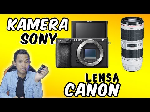 Download Kamera Sony Lensa Canon ? APSC jadi FULL FRAME ? viltrox ef-e ii speed booster Mp4 HD Video and MP3