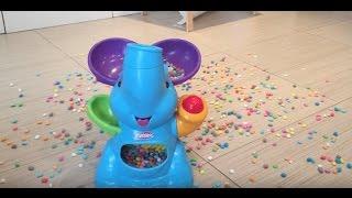 Elefante Trompa Ball super juego divertido con minibolas