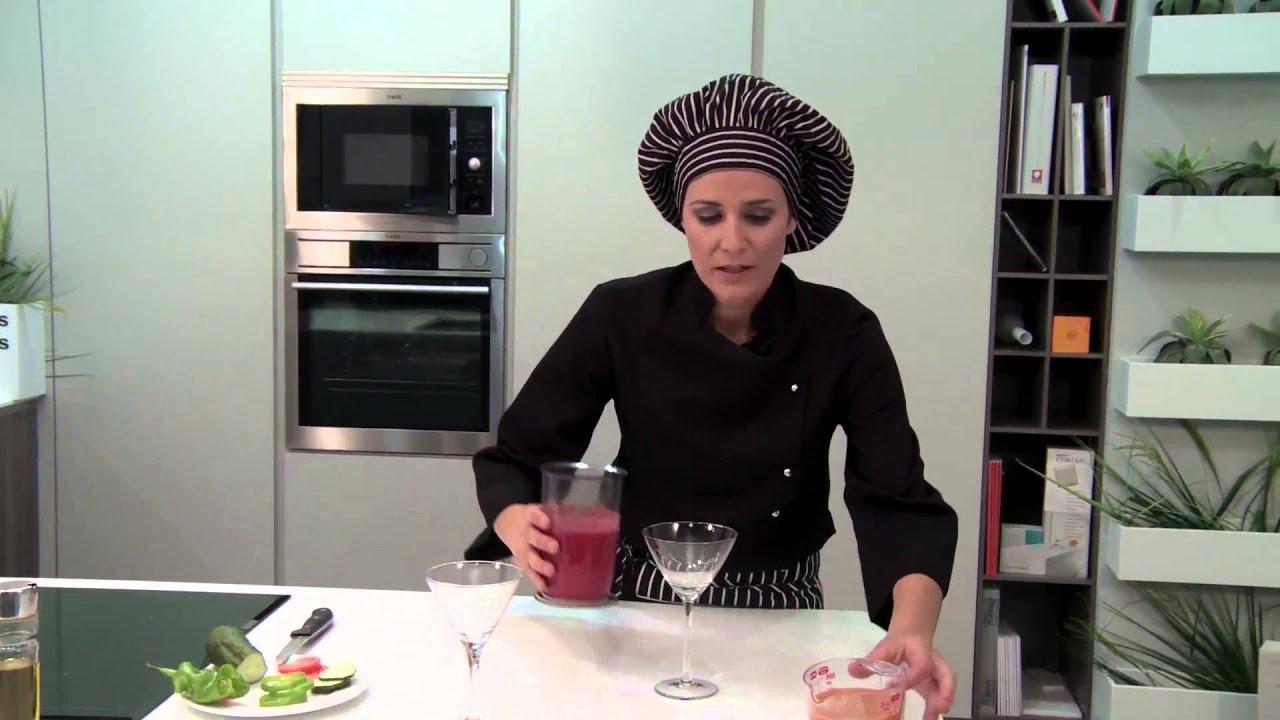Tapas 12: Gazpacho de remolacha